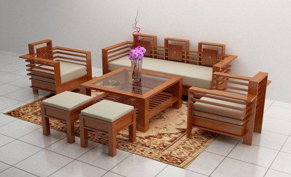 Mua ngay bàn ghế gỗ phòng khách dưới 10 triệu đẹp ấn tượng nhất
