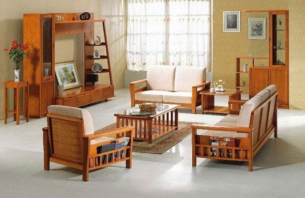 Bàn ghế gỗ phòng khách dưới 10 triệu
