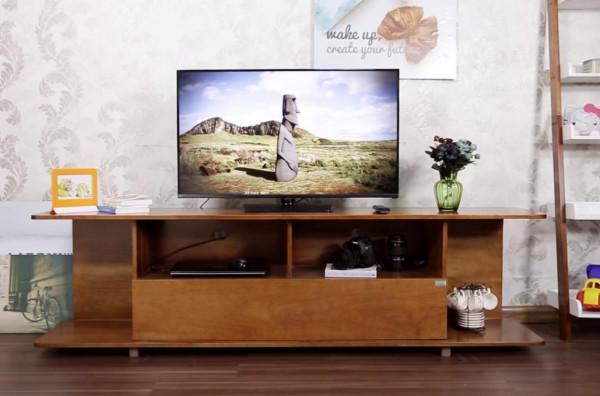Các mẫu kệ tivi đẹp bằng gỗ