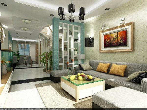 1101+ mẫu vách ngăn phòng khách đẹp hiện đại nhất 2021