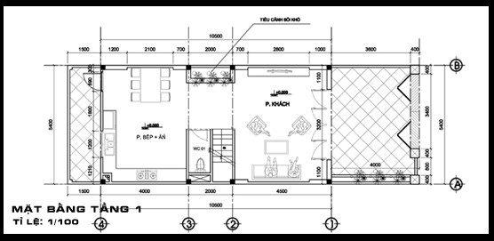 99+ mẫu bản vẽ kết cấu nhà phố 2 tầng chi tiết hoàn chỉnh nhất