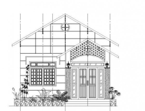 15+ mẫu bản vẽ nhà cấp 4 hoàn chỉnh – chi tiết không nên bỏ lỡ