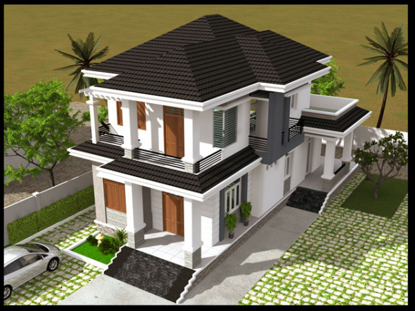 Các mẫu thiết kế mặt tiền nhà 2 tầng đẹp ấn tượng được ưa chuộng nhất