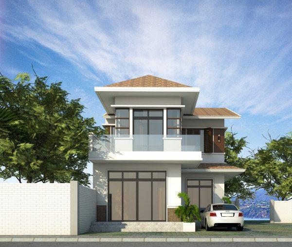 1000 mẫu nhà 2 tầng đẹp, thiết kế hiện đại chi phí xây dựng thấp