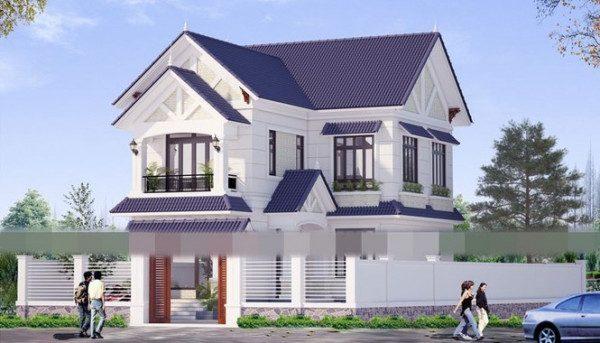 Cập nhật các mẫu nhà 2 tầng mái thái đẹp hiện đại cho các hộ gia đình