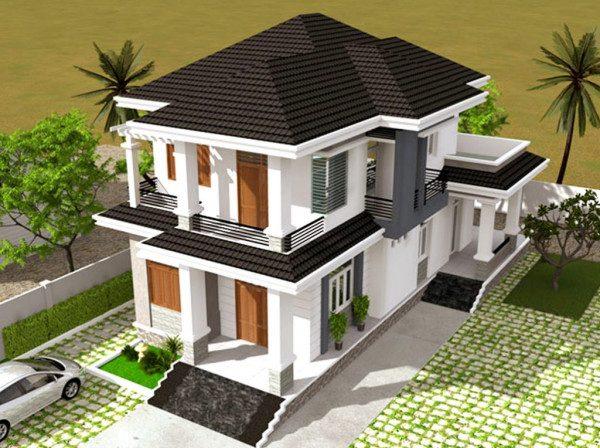 Tổng hợp 55+ mẫu thiết kế nhà 2 tầng đẹp đơn giản – hiện đại nhất