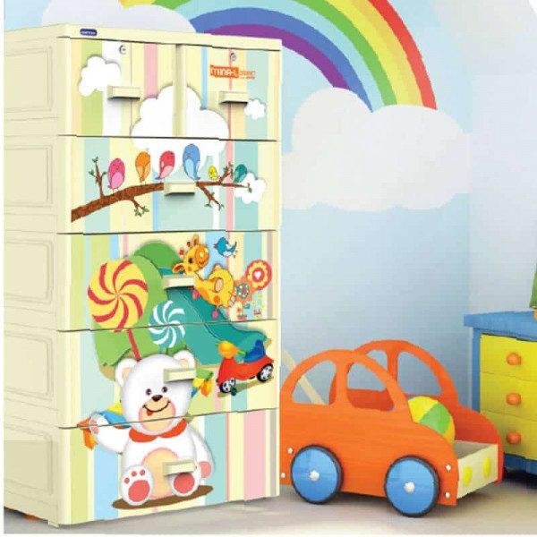 Top 6 mẫu tủ nhựa trẻ em được yêu thích nhất cho các bé