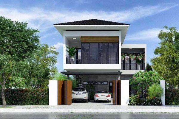 55+ mẫu nhà 2 tầng đẹp ở nông thôn bạn nên xem một lần