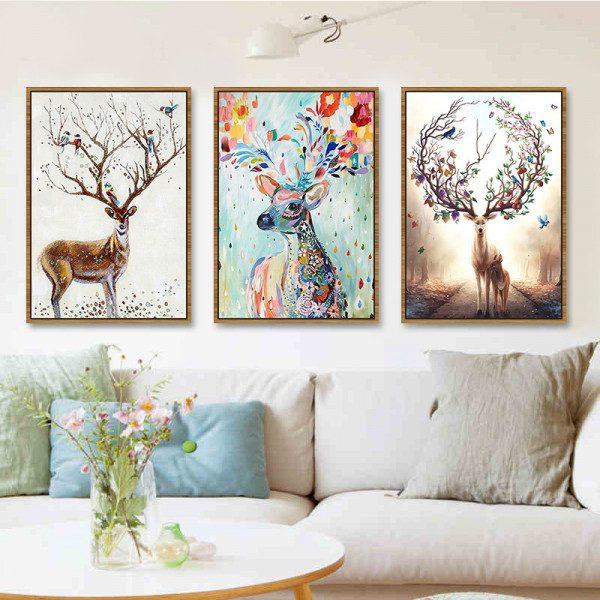 101+ mẫu tranh treo tường đẹp sanh chảnh cho mọi không gian