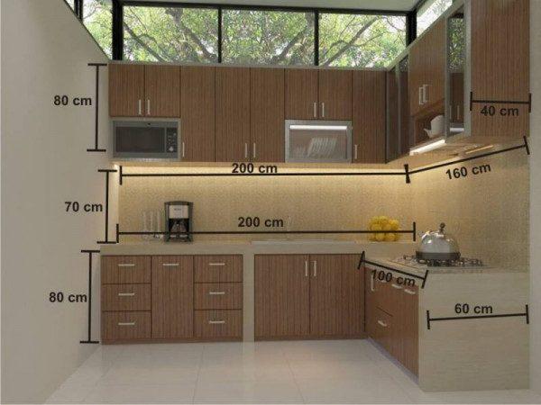 Kích thước tủ bếp chuẩn cho căn phòng bếp nhà bạn