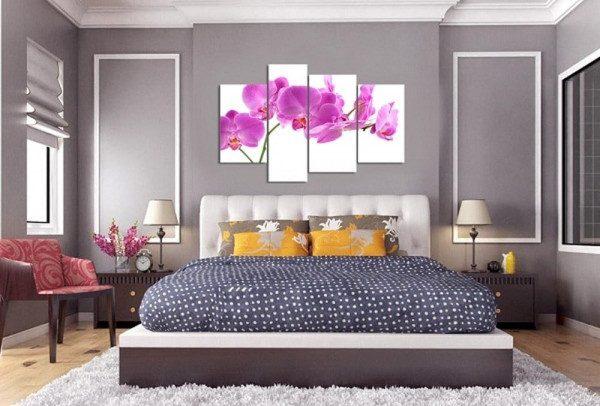 Sử dụng tranh treo tường để trang trí - Nội Thất Nhà Lee