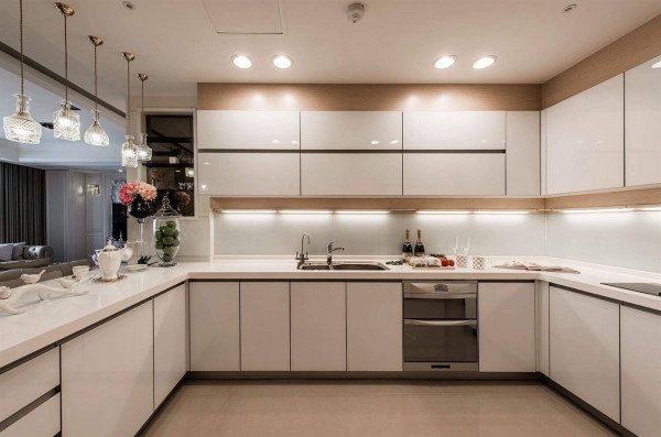 Tủ bếp đẹp cho không gian bếp thêm ấm cúng và hiện đại