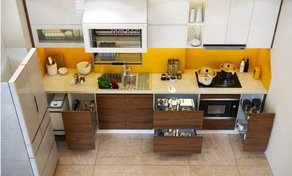N+ tủ bếp hiện đại hợp phong thủy cho căn nhà của bạn