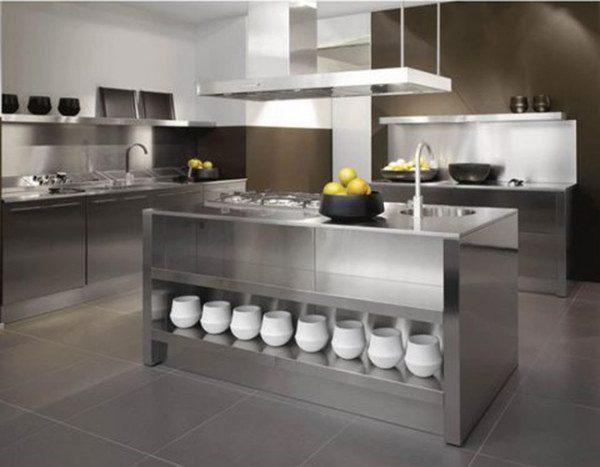 Tham khảo mẫu tủ bếp inox được người dùng ưa thích