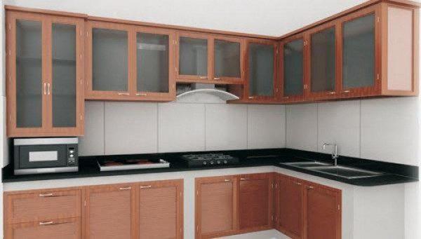 tủ bếp nhôm