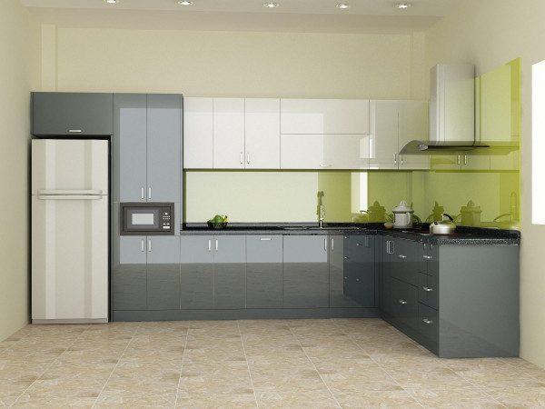 Tủ bếp nhựa đẹp - Nội Thất Nhà Lee