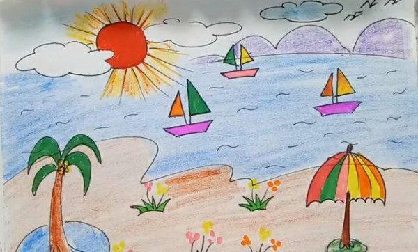 Vẽ tranh phong cảnh lớp 7