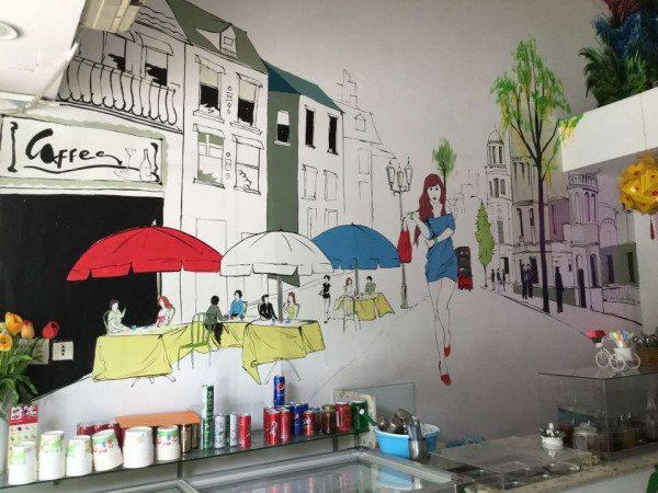 Vẽ tranh tường tại hà nội