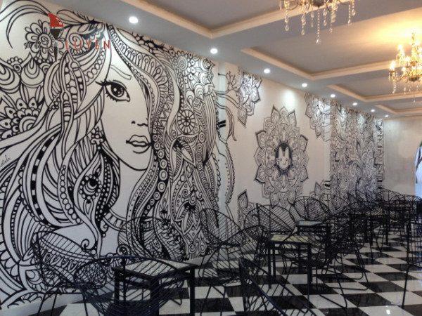 Vẽ tranh tường tại Nghệ An