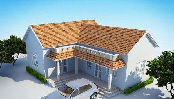 xây nhà cấp 4 khoảng 150 triệu