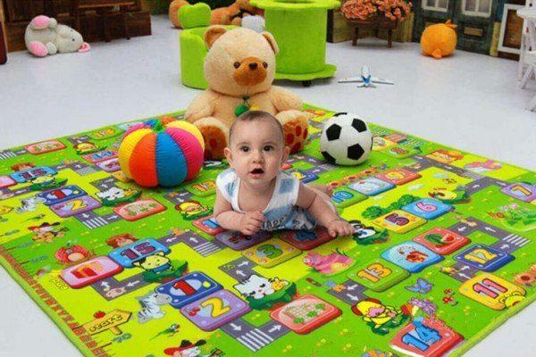 Thảm trải sàn cho bé con và những điều cần lưu ý