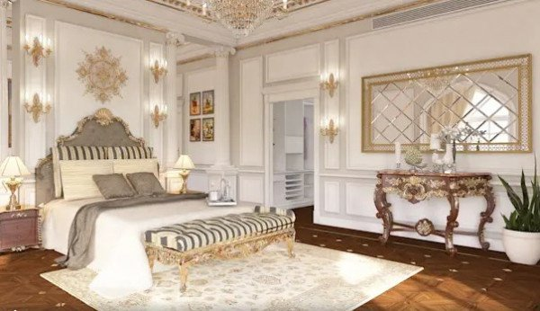 Thảm trải sàn phòng ngủ