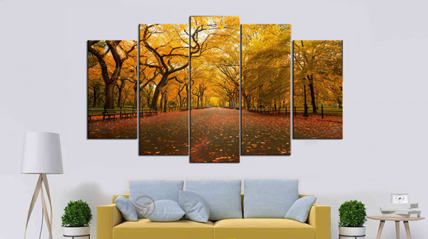 Sự đơn giản của những bức tranh phong cảnh lại mang đến vẻ đẹp kì diệu