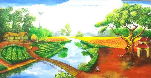 Vẽ tranh đề tài phong cảnh
