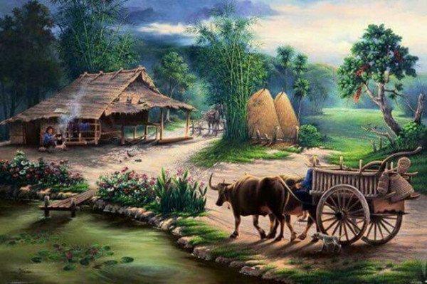 Cách vẽ tranh phong cảnh đơn giản nhất bạn không nên bỏ lỡ
