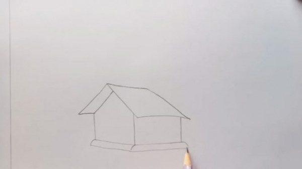 Vẽ tranh phong cảnh bằng bút chì siêu đẹp