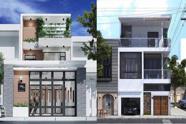 Xây dựng nhà 2 tầng hiện đại ở nông thôn với chi phí 300 triệu