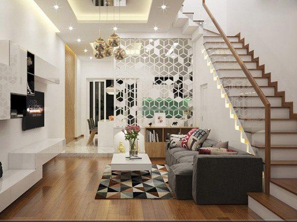 Cầu thang đẹp cho nhà 2 tầng - Nội Thất Nhà Lee