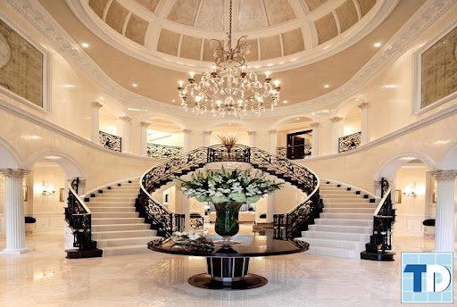 Cầu thang đẹp theo phong cách châu Âu - Nội Thất Nhà Lee