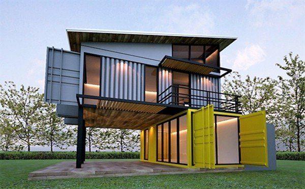 Chi phí xây nhà container đẹp - Nội Thất Nhà Lee