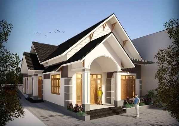 Mẫu nhà cấp 4 nông thôn chi phí xây dựng 300 triệu - Nội Thất Nhà Lee