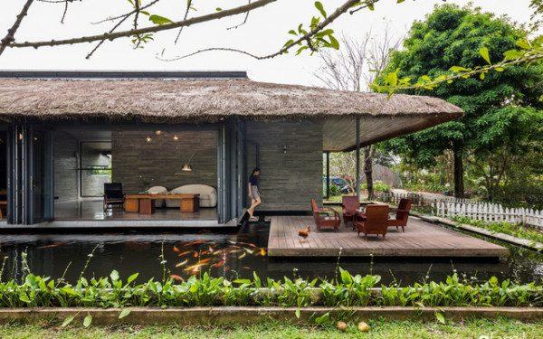 Mẫu nhà vườn đẹp - Nội Thất Nhà Lee