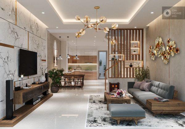Phong cách thiết kế nội thất nhà phố - Nội Thất Nhà Lee