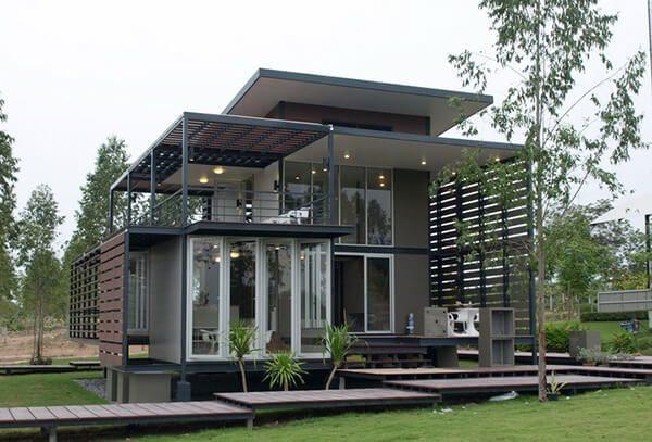 Thiết kế nhà vườn đẹp - Nội Thất Nhà Lee
