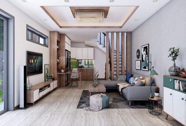 Thiết kế nội thất nhà phố hiện đại - Nội Thất Nhà Lee
