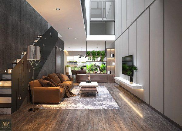 Xu hướng thiết kế nội thất nhà phố - Nội Thất Nhà Lee