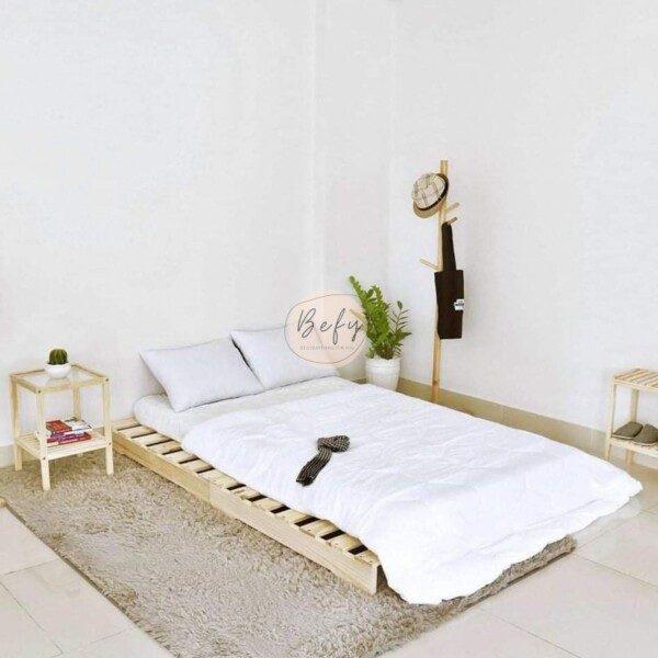 Giường Pallet Gỗ Đẹp Giá Rẻ Với 20+ Cực Phẩm Cho Phòng Ngủ