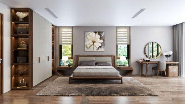 Trang trí nội thất phòng ngủ - Nội Thất Nhà Lee